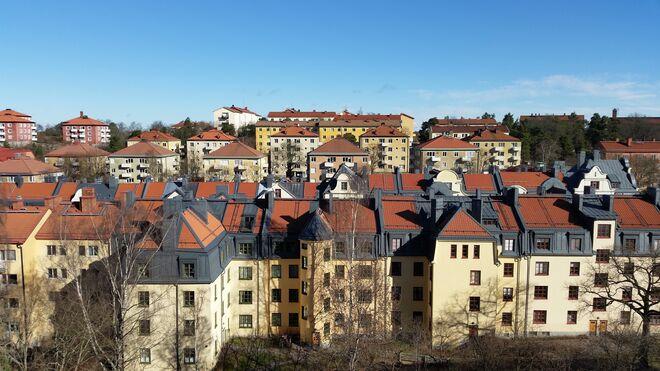 Vistas desde nuestra casa en Estocolmo