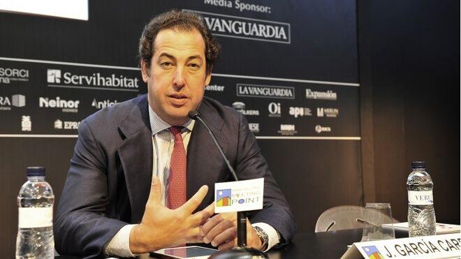Javier García-Carranza, director general adjunto de Banco Santander.