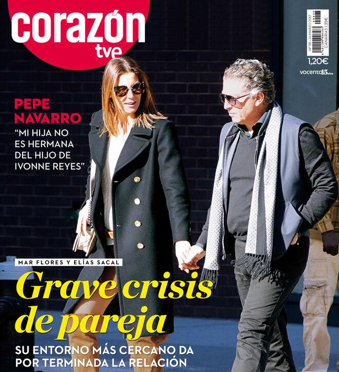 """""""Grave crisis"""" entre Mar Flores y el empresario Elías Sacal"""