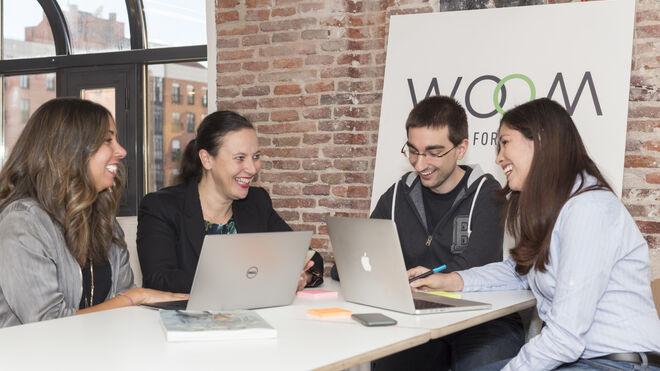 El equipo Woom