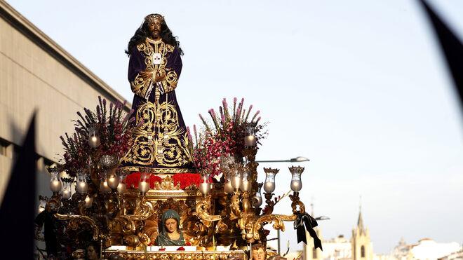 Un momento de la procesión del Cristo de Medinaceli de Madrid