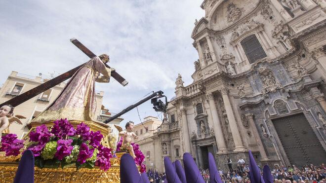 """La procesión de """"los Salzillos"""" de Murcia"""