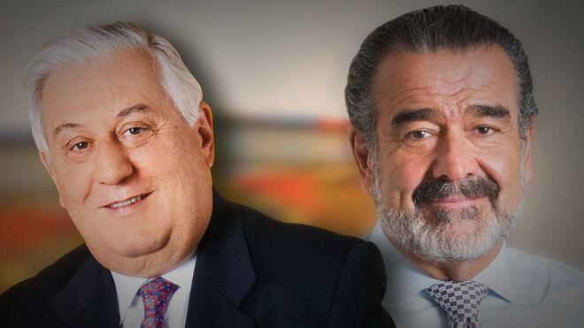 Antonio Del Valle y Andrónico Luksic, accionistas de Banco Popular