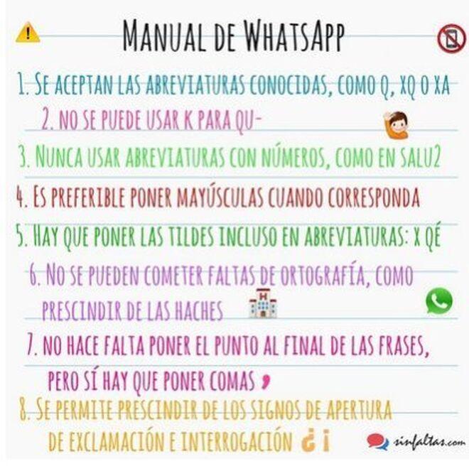 Consejos para escribir bien en Whatsapp