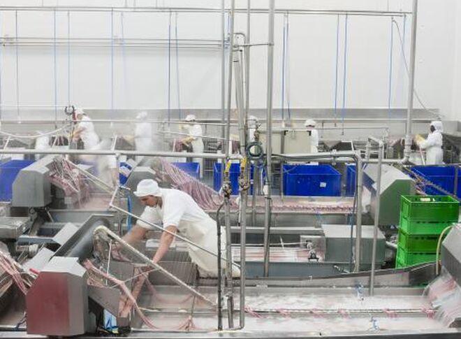 Interior de una fábrica de Grupo Jorge.