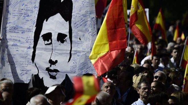 Manifestación por Miguel Ángel Blanco