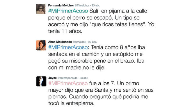 #MiPrimerAcoso