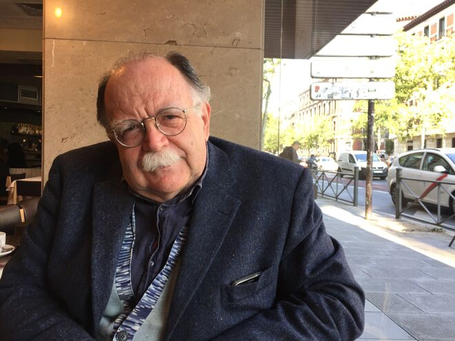 Walter Siti visitó recientemente Madrid.