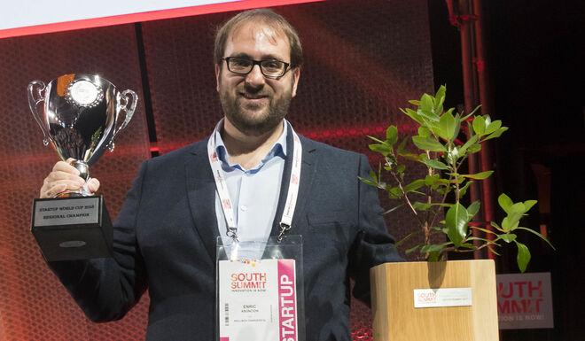 Enric Asuncion, CEO de Wallbox, proyecto ganador de la Startup Comtetition del South Summit 2017