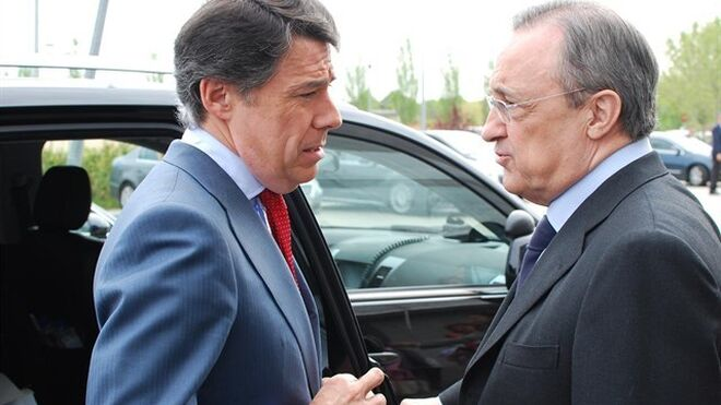Ignacio González junto a Florentino Pérez