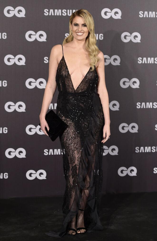 La presentadora escogió un vestido muy provocativo para los premios GQ.