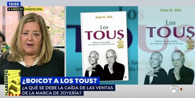 Ana Alós habla de Letizia y los Tous en Espejo Público.