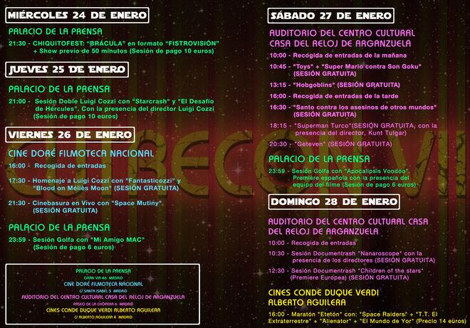 Programa de la CutreCon VII