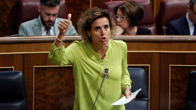 La exministra de Sanidad, Servicios Sociales e Igualdad, Dolors Montserrat.