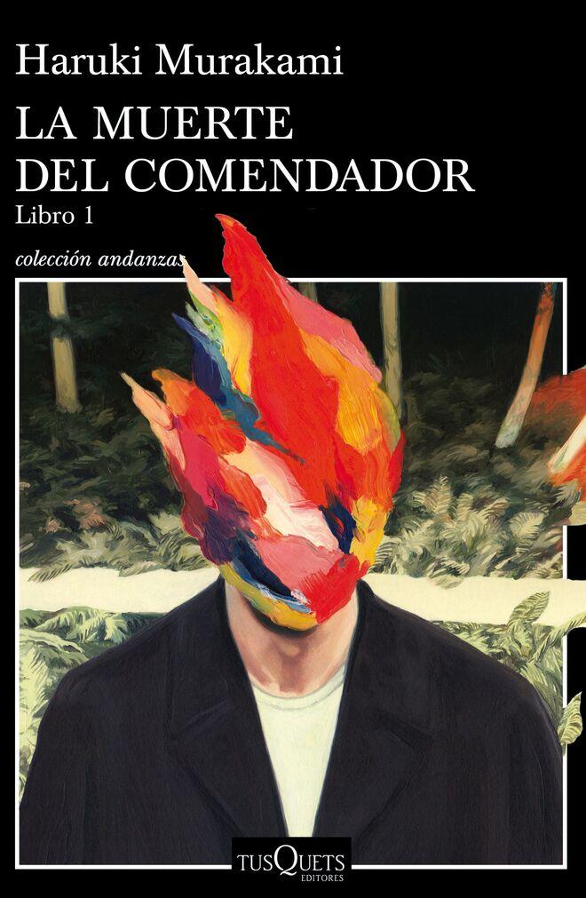 Detalle de la portada del nuevo libro de Murakami.