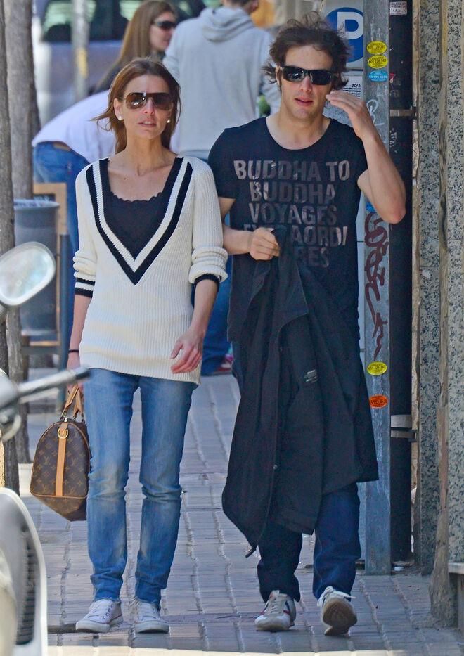 El jurado de 'MasterChef' Jordi Cruz y su novia Cristina Jiménez.