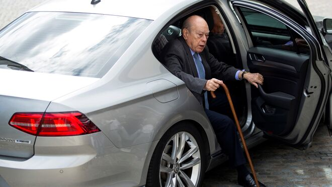 El expresidente de la Generalitat Jordi Pujol.