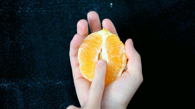Una naranja, de temporada