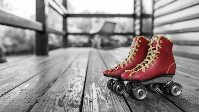 En el parque se liga mucho patinando, lector