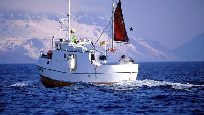Barco para la pesca del Skrei