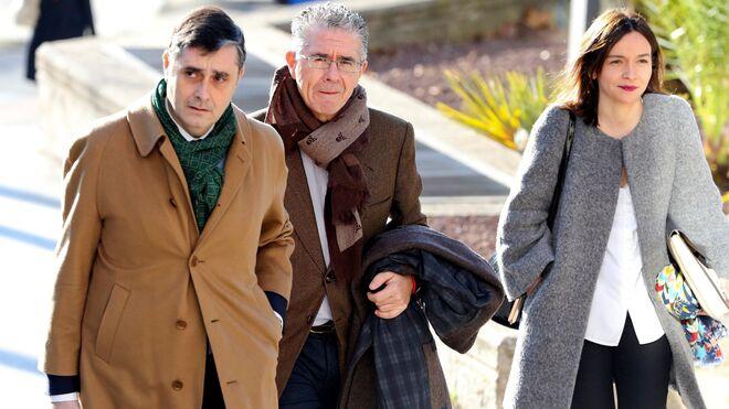 Francisco Granados, a su llegada a la Audiencia Provincial de Madrid.