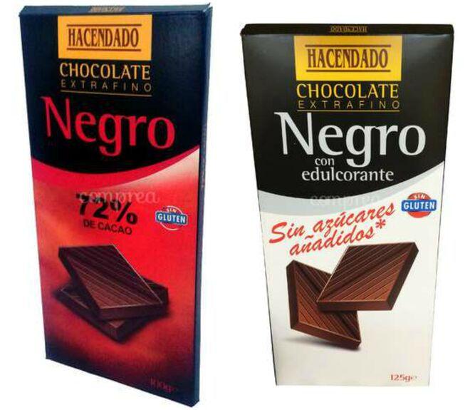 Chocolate de Mercadona