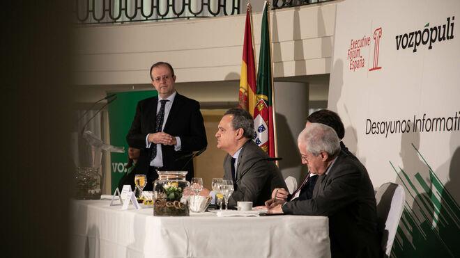 Desayuno informativo con Francisco Ribeiro de Meneces, embajador de Portugal en España