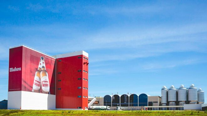 Fábrica de Mahou San Miguel en Alovera (Gudalajara)