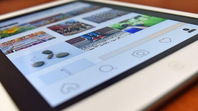 Instagram en un dispositivo
