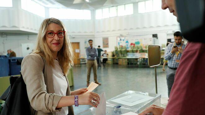 La cabeza de lista de Podemos para las elecciones europeas María Eugenia Rodríguez Palop
