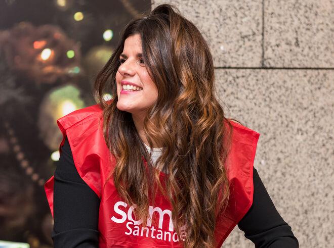 Voluntaria del Santander.