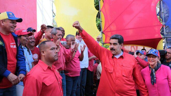 El líder del chavismo, Nicolás Maduro