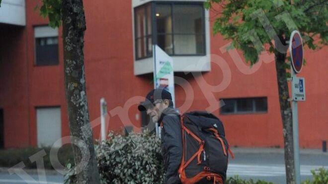 La última imagen de 'Josu Ternera' antes de ser detenido