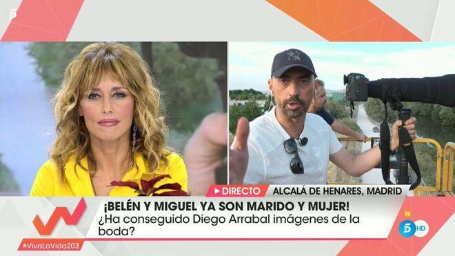 Diego Arrabal Y Emma García en 'Viva la vida'