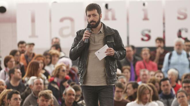Juan Manuel del Olmo durante un acto en Valladolid.