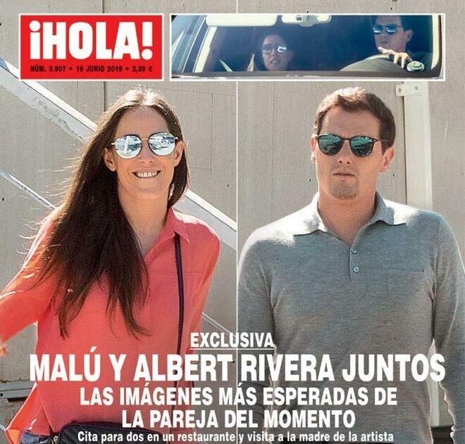 Malú y Albert Rivera