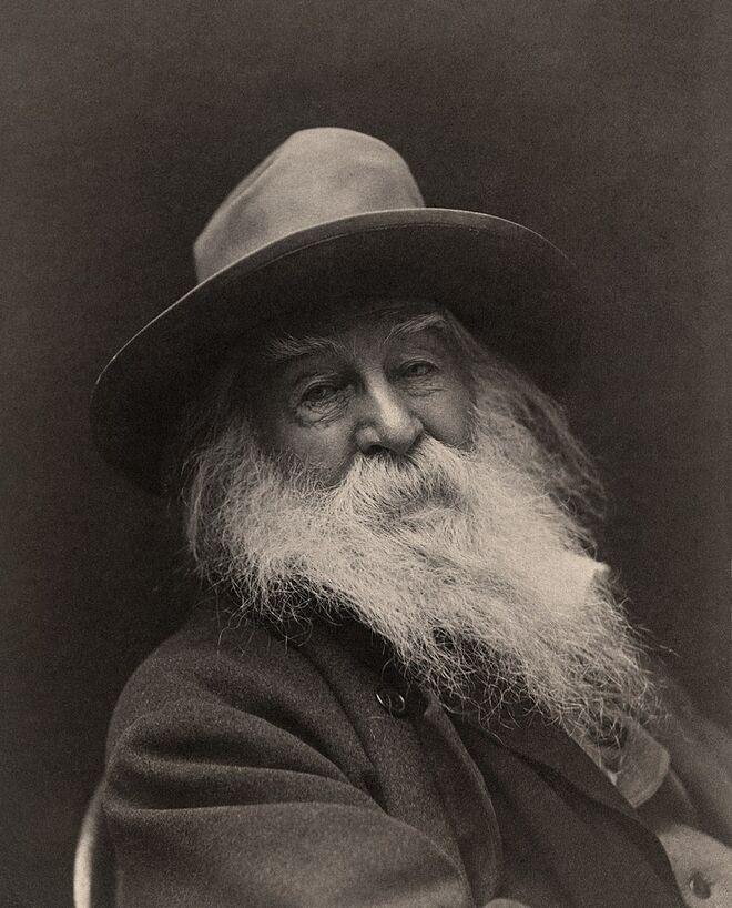 Walt_Whitman, en 1887