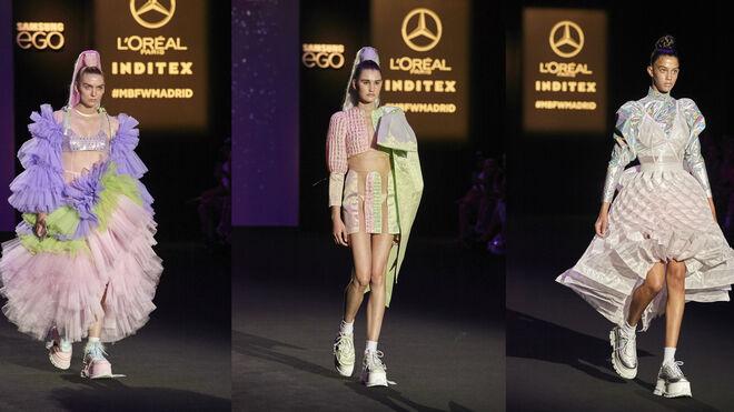 Desfile de Dominnico en Mercedes-Benz Fashion Talent