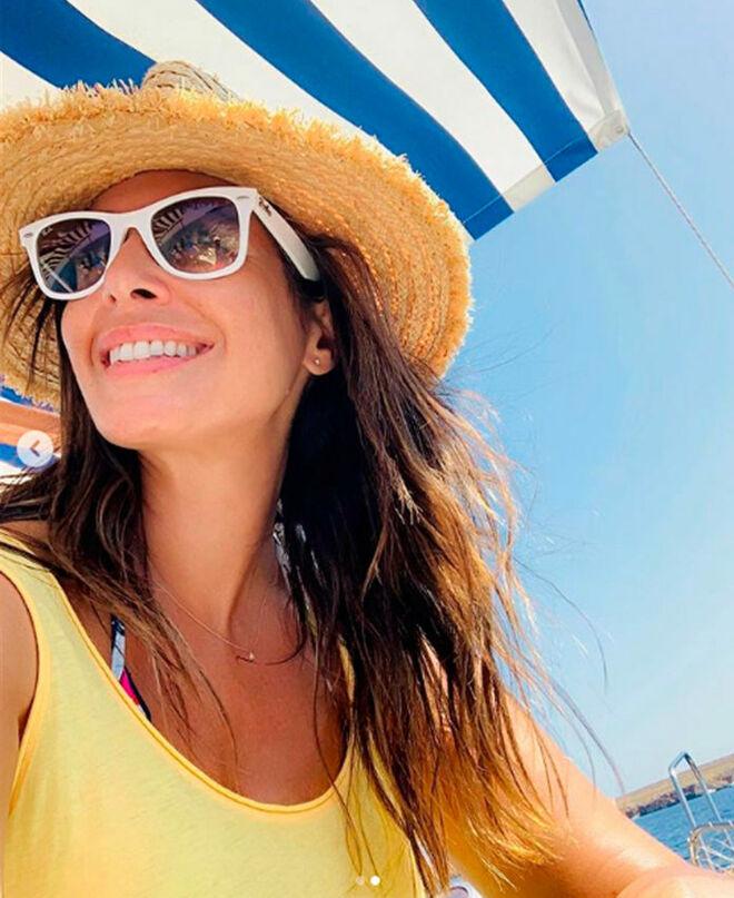 Nuria Roca, de vacaciones