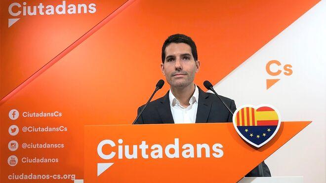 El diputado de Cs en el Parlament, Nacho Martín Blanco