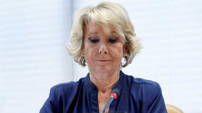 La expresidenta madrileña Esperanza Aguirre se enfrenta a una posible imputación en la Púnica.