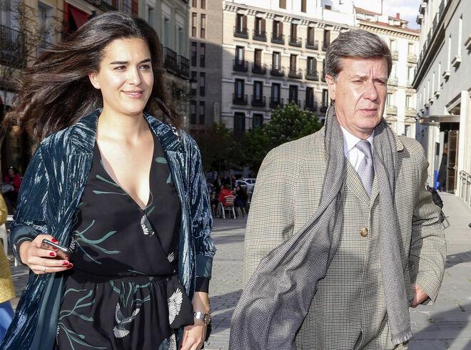 Bárbara Mirjan y Cayetano Martínez de Irujo en 2019