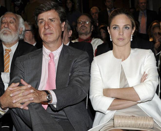 Cayetano Martínez de Irujo y Genoveva Casanova en 2013