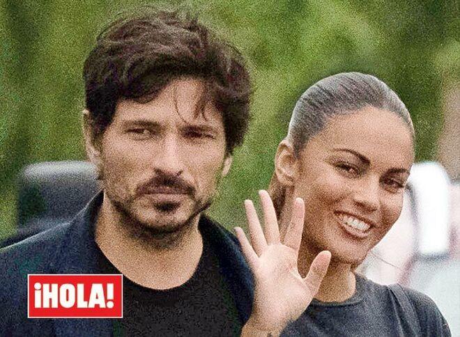 Lara Álvarez y Andrés Velencoso, en el 'Hola'
