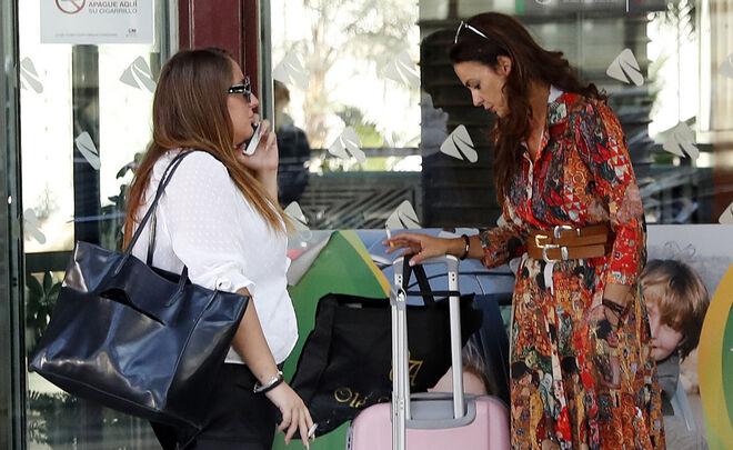 Rocío Flores Carrasco y Olga Moreno en 2019