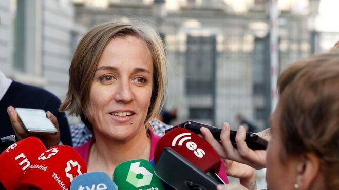 La política Tania Sánchez, y ex de Pablo Iglesias, muestra a su hijo recién nacido