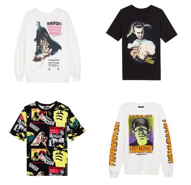 Camisetas manga corta PVP: 15.99€ // Sudaderas blancas PVP: 19.99€