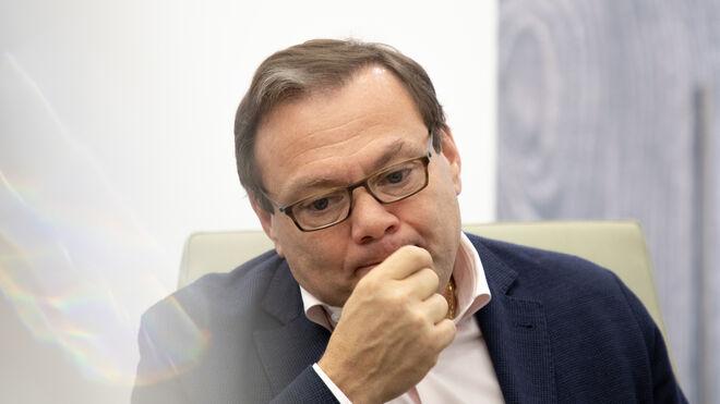 Mikhail Fridman, durante la entrevista con Vozpópuli.