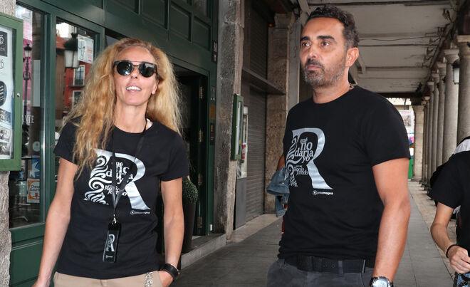 Rocío Carrasco y Fidel Albiac en 2019