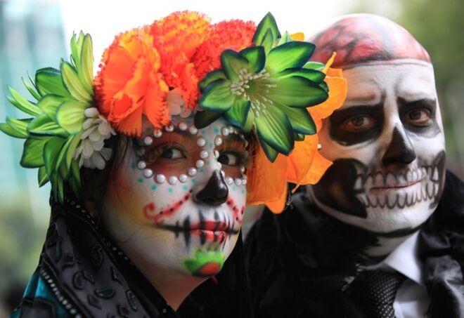 Un disfraz muy popular es el de la Catrina mexicana.